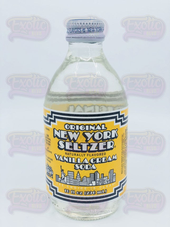 New York Seltzer Vanilla Cream