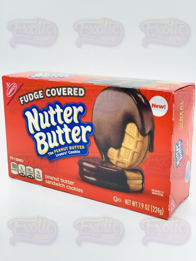 Fudge Covered Nutter Butter