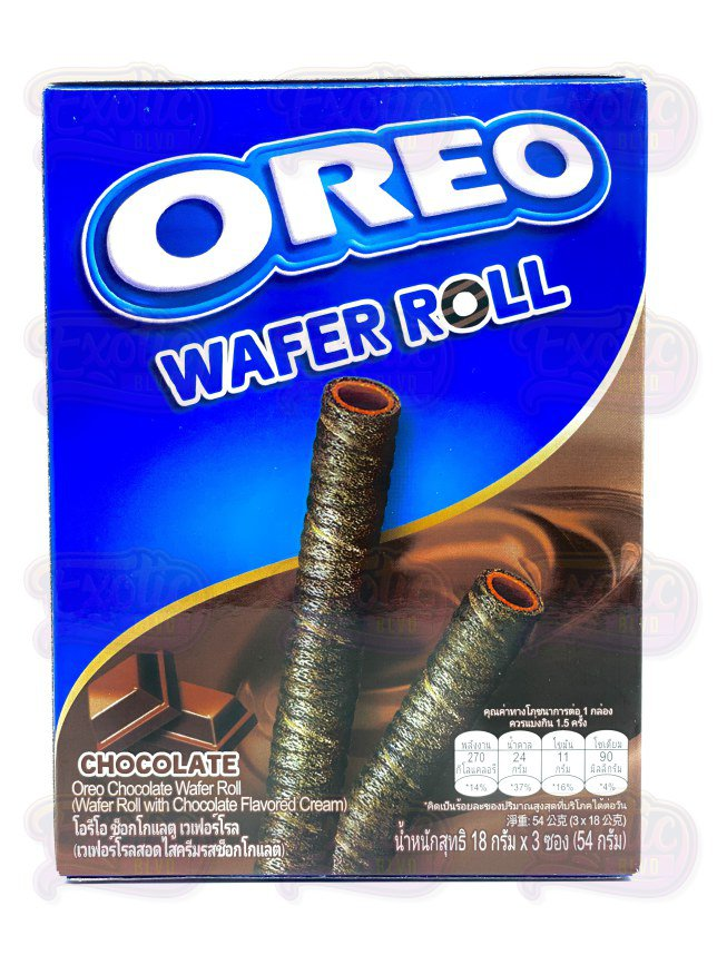 Oreo Wafer Roll Chocolate