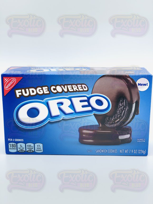 Fudge Covered Oreo