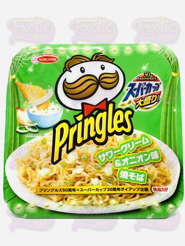 Pringles Ramen Noodles, Sour Cream and Onion