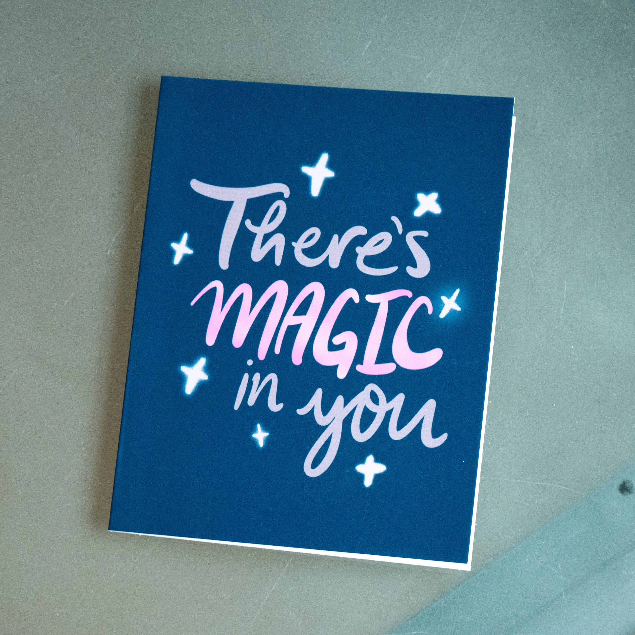 There's Magic in You Greeting Card-Card-Roam Wild Designs
