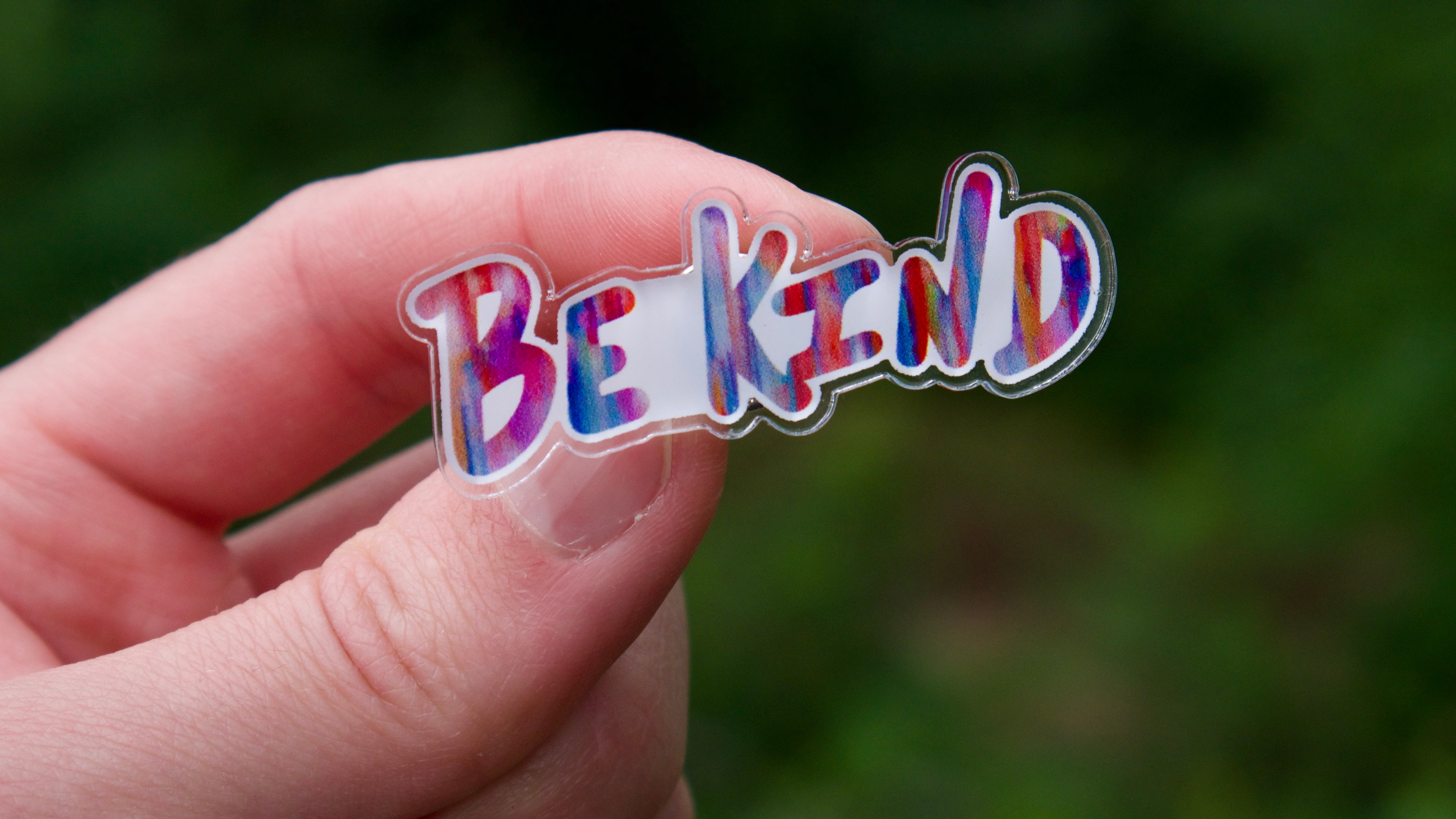 Be Kind Acrylic Pin-Pin-Roam Wild Designs