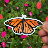 Monarch Butterfly Vinyl Sticker-Vinyl Sticker-Roam Wild Designs