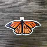 Cool monarch butterfly sticker