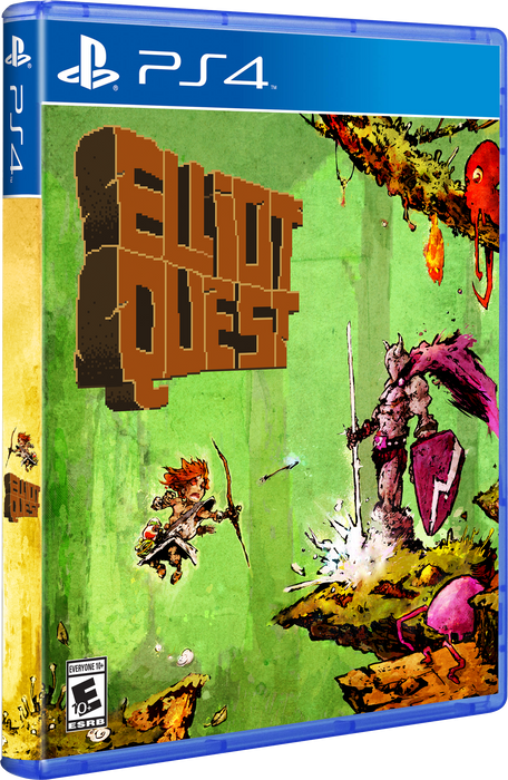 Elliot Quest: Original Cover Art