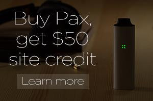 PURCHASE A PAX, GET A $50 SITE CREDIT