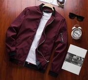 Men's Bomber Zipper Jacket - GIGI & POPO