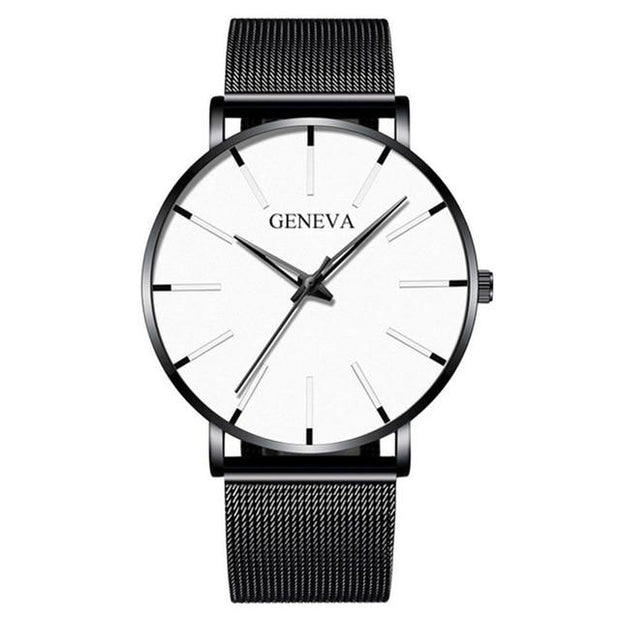 Minimalist Men's Fashion Ultra Thin Watches - GIGI & POPO