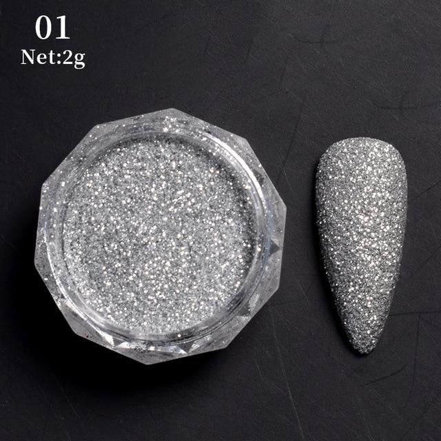 Nail Sequins Holographics Powder - GIGI & POPO