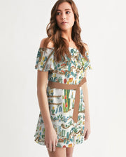 Primavera Off shoulder Dress - GIGI & POPO