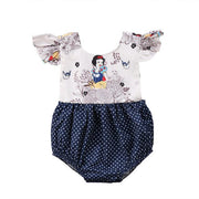 Pudcoco Girl Jumpsuits 0-24M Newborn Baby Girls Cartoon Dot Romper Jumpsuit Outfits Clothes Sunsuit - GIGI & POPO