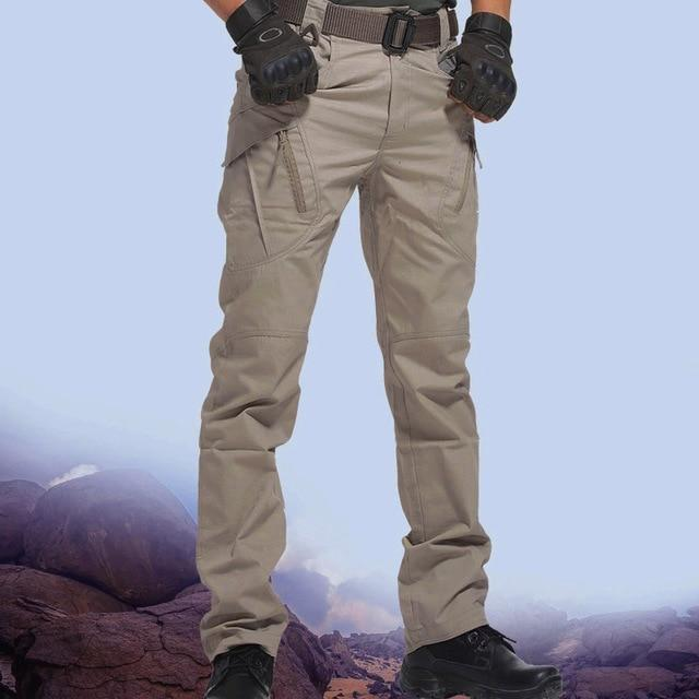 Waterproof Wear Resistant Casual Military Tactical Pants - GIGI & POPO