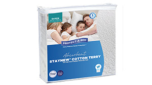 Protect A Bed Staynew Cotton Terry Mattress Protector