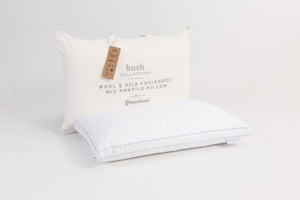Sleepyhead Hush Wool Silk FusionGel Mid Pillow