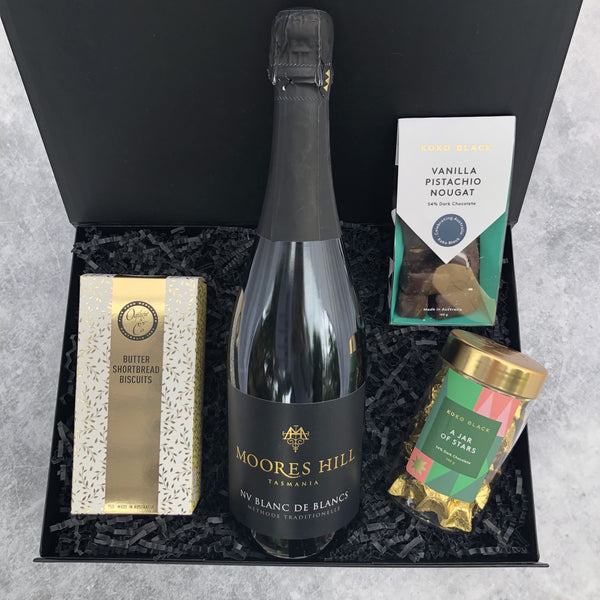 Gift Hampers for Her, Gift Hampers for Women, Gift Hampers for Men, Gift Hampers for Him, Corporate Hampers, Corporate Gift Hampers, Christmas Gift Hampers, Christmas Hampers Melbourne - Golden Sparkle
