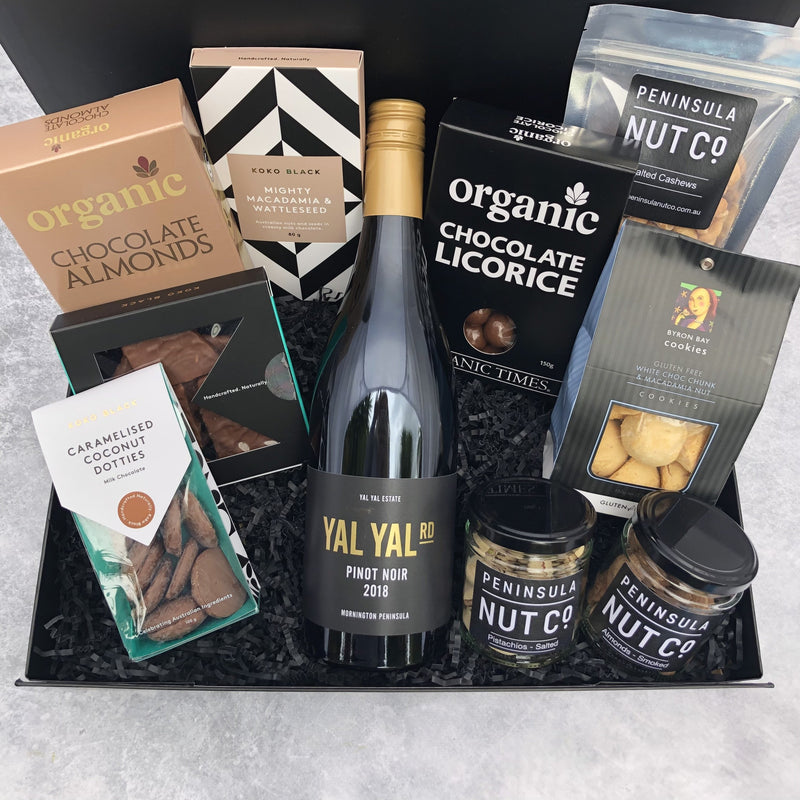 Gift Hampers for Her, Gift Hampers for Women, Gift Hampers for Men, Gift Hampers for Him, Corporate Hampers, Corporate Gift Hampers, Christmas Gift Hampers, Christmas Hampers Melbourne - Nutty Decadence