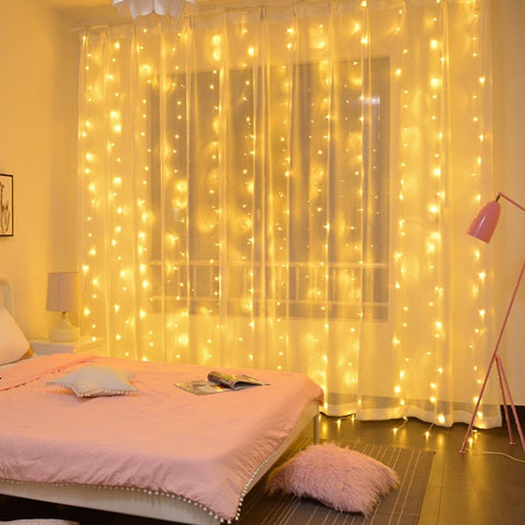 Curtain Fairy String Light LED Christmas Decorations For Home Garland Xmas Light Christmas Tree Decor 2019 Navidad Ornament Gift - Maverick Mall