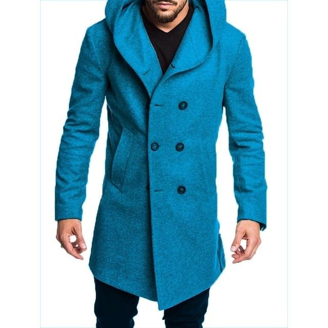 New Style Winter Coats for Men | Winter Mens Long Trench Coat 2019- Maverick Mall