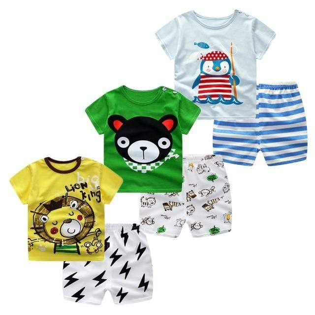 3pcs/lot 2019 Baby Boys Girls Clothing- Maverick Mall