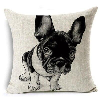 Accessories - Cute Pug Pillow For Home