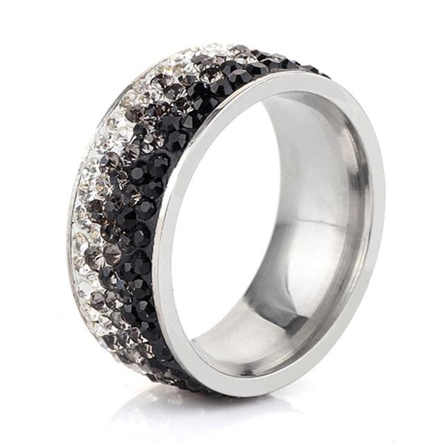 Fashion Stainless Steel Ring For Women- Maverick Mall