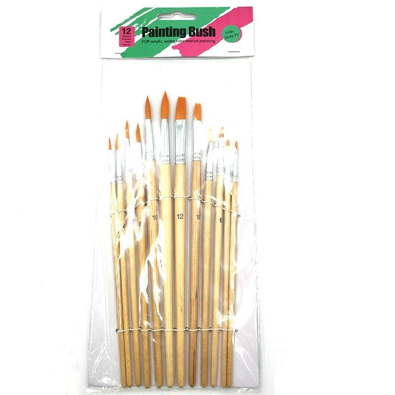 Hair Oil Painting Brush for Fashion Womens - Maverick Mall