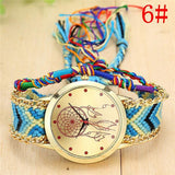 Handmade Friendship Bracelet Watch for Ladies - New Arrival At Maverick Mall - Maverick Mall