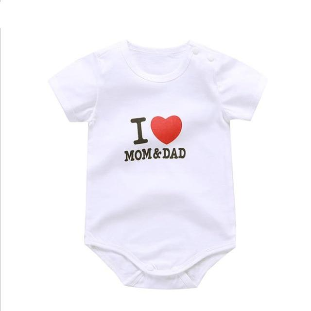 Baby Boys Bodysuit Girls Summer Clothing - Maverick Mall