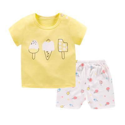 Cartoon Shark New Born Baby Boy Fashion Clothing Outfits Baby Girl Casual Clothing Sets- Maverick Mall