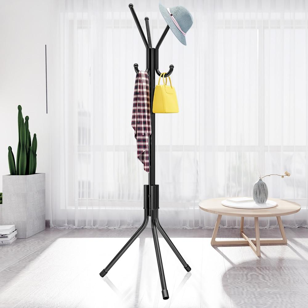 Children Coat Rack Kid Clothes Tree Hat Hanger Hat Rack Coat Racks Stand For Coats Hats Scarves Clothes Bags For Living Room- Maverick Mall