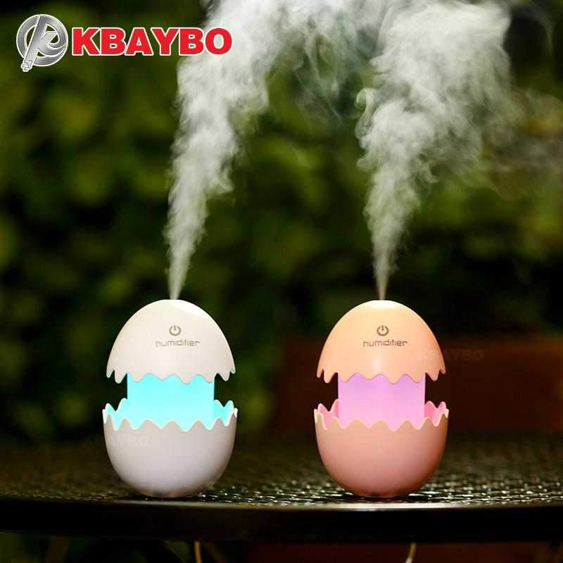 Egg LED light Essential Oil Diffuser - Maverick Mall