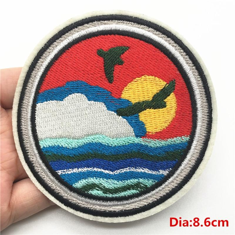 Embroidered DIY Patch For Clothes and Bags- Maverick Mall