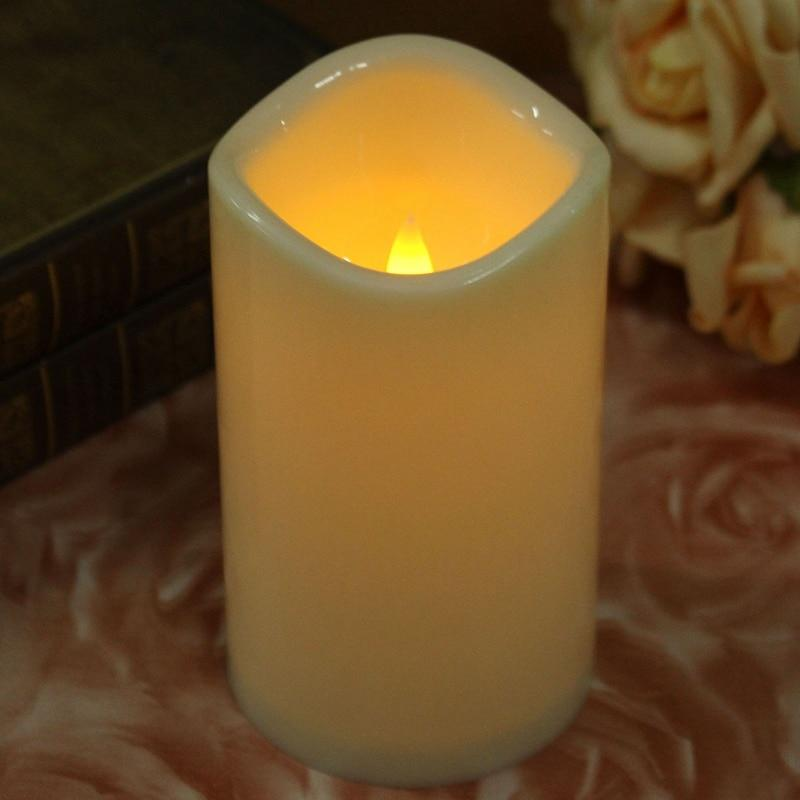 KiWarm Flameless Battery Operated LED Candles Tealight Night Lights Lamp for Wedding Birthday Party Christmas Home Decor - Maverick Mall