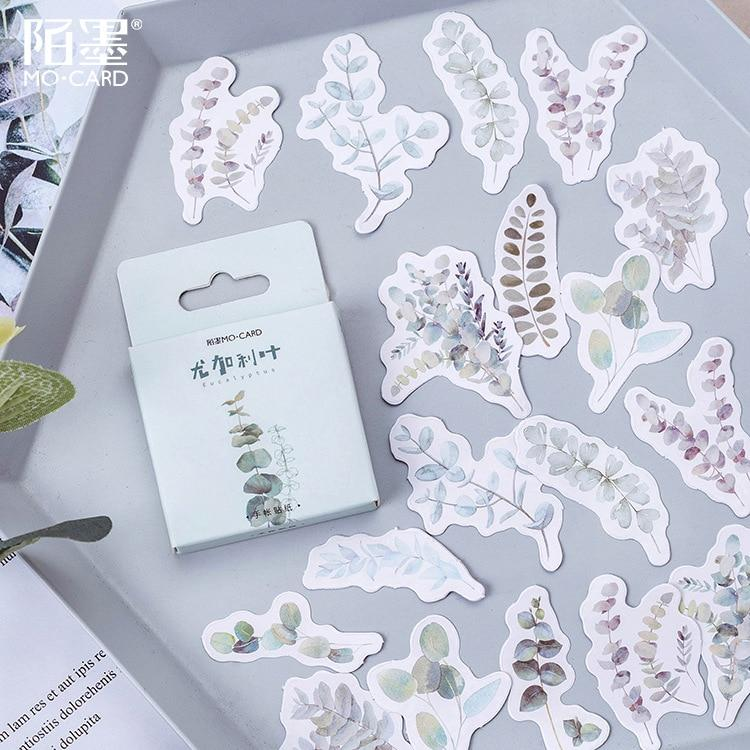 Leave Paper Sticker - Leaves Paper Stickers