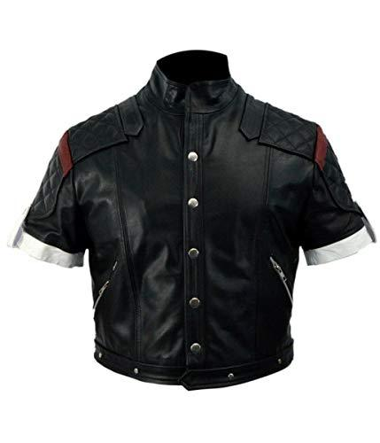 Supper Game Boy Black Costume Faux Leather Jacket - Maverick Mall