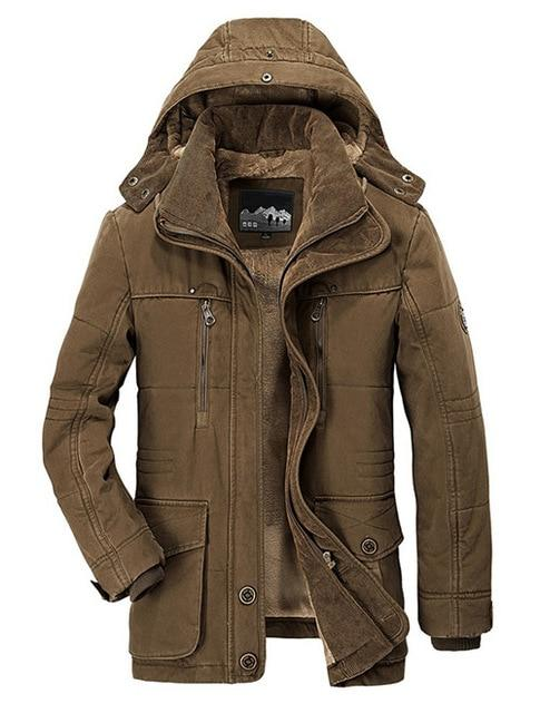 Brand Winter Jacket Men - Maverick Mall