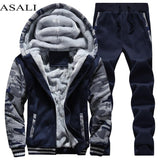 Tracksuit Men Sporting Fleece Jacket