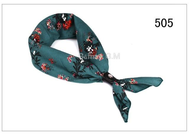 New Print Scarf British Style Spring Autumn Cotton Scarves For Men Women Luxury Pocket Square Shawl for Party Hanky Handkerchief - Maverick Mall
