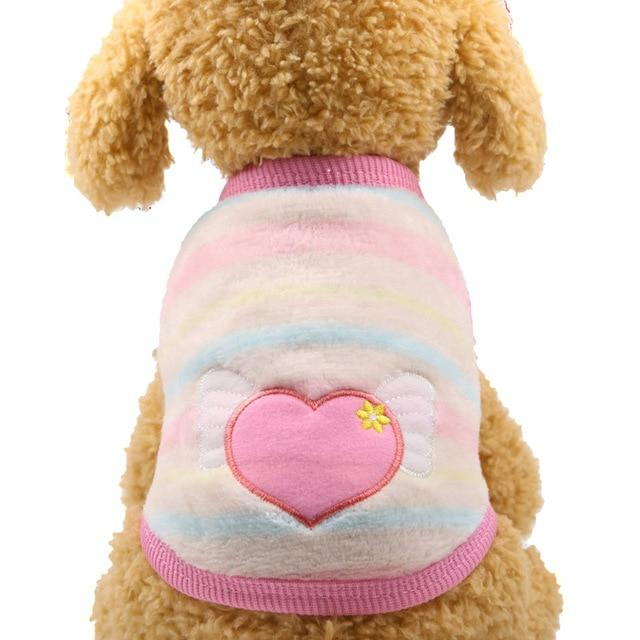 Puppy Vest Clothing with Multi Colored Cartoons- Maverick Mall