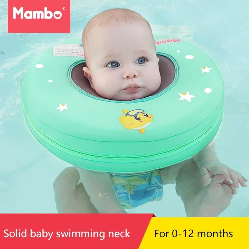 Solid Safety Inflatable Baby swim - Maverick Mall