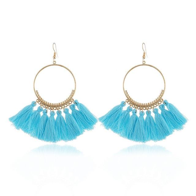 Tassel Earrings For Women Ethnic - Maverick Mall