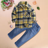 Toddler Boy Clothes Summer Children Clothing Boys Sets Costume For Kids Clothes Sets T-shirt+Jeans Sport Suits 2 3 4 5 6 7 Years - Maverick Mall
