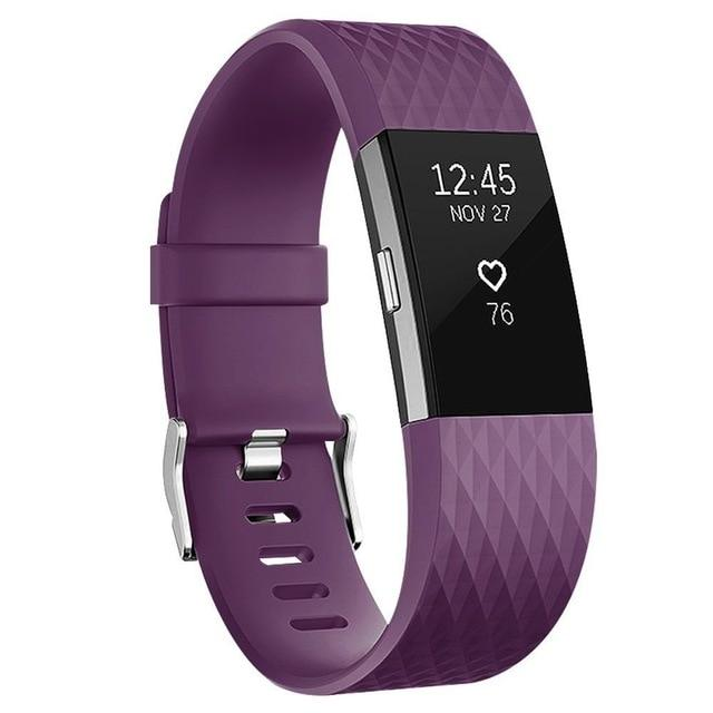 Wrist Strap for Fitbit Charge 2 Band Smart Watch Accessorie For Fitbit Charge 2 Smart Wristband Strap Replacement Bands- Maverick Mall