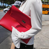 Women Day Clutches PU Leather Crossbody Bags For Women's Envelope Clutch Purse Ladies Hand Bags Bolsas Shoulder Bag Gary Handbag- Maverick Mall