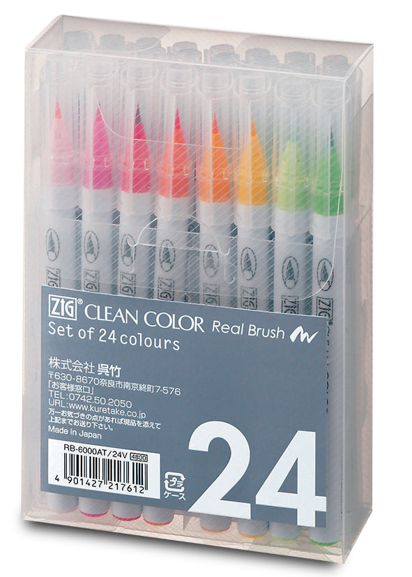 Zig Clean Color real brush סט 24 יח