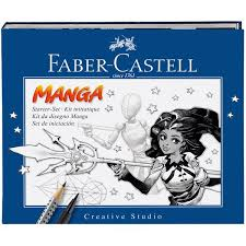 Manga drawing kit Faber Castell
