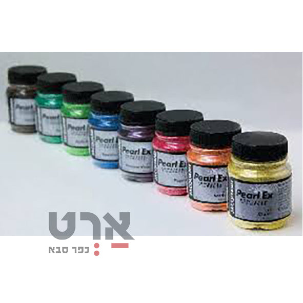פיגמנט בגימור פנינה 14.17 גר pearl ex powdered pigment zaquard