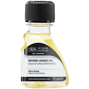 Refind linseed oil 75 ml winsor & newton