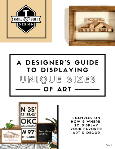 Designer's Guide to Displaying Unique Sizes of Art